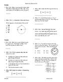 5th Grade Math daily review week 23