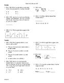 5th Grade Math daily review week 29