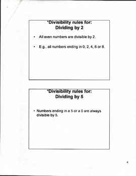 5th Grade Mathematics