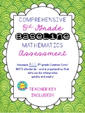5th Grade Mathematics Baseline Assessment