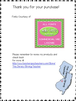 5th Grade Mathematics Common Core Checklist