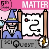 5th Grade Matter SciQuest Science Scavenger Hunt- Print an