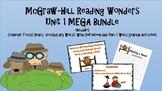 5th Grade McGraw Hill Wonders UNIT 1 MEGA BUNDLE Concept F