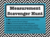 5th Grade Measurement Conversions Scavenger Hunt