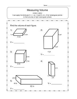 5th Grade Measurement & Data Worksheets: 5th Grade MD Worksheets 5.MD Worksheets