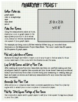 5th Grade Measurement Project, part 2