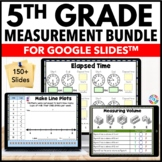 5th Grade Measurement and Data Bundle {5.MD.1 - 5.MD.5} Google Classroom