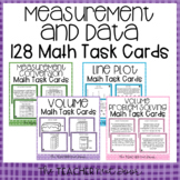 5th Grade Measurement and Data Task Card Bundle
