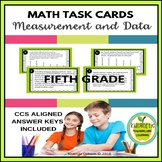 5th Grade Measurement and Data Task Cards