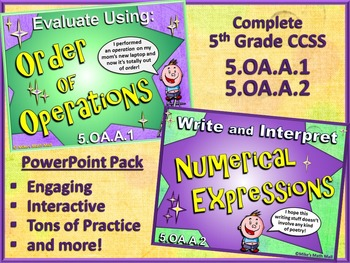 5th Grade Mega PowerPoint Pack - CCSS