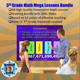 5th Grade Mega Powerpoint Lesson Bundle - 68 Lessons - 3081 Slides
