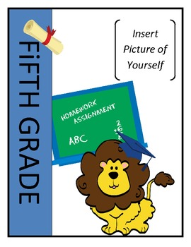 EDITABLE 5th Grade Memory Book: End of Year Activity