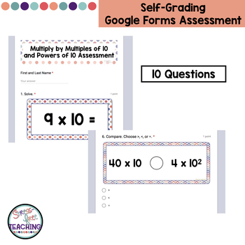5th Grade Mental Math - Multiplication by Powers of 10
