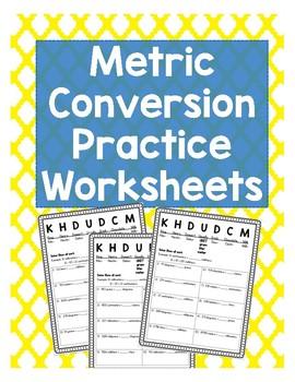 5th Grade Metric Conversion Practice Worksheets