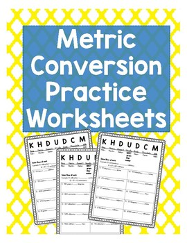 5th Grade Metric Conversion Practice Worksheets