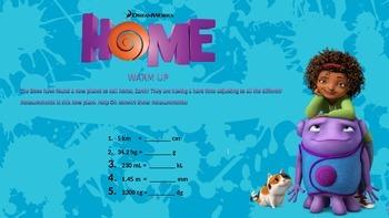 5th Grade Metric/Customary Conversion Warm ups