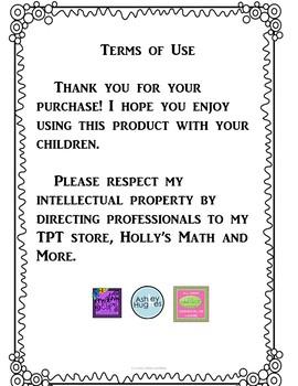 5th Grade Minute Math- Week 6