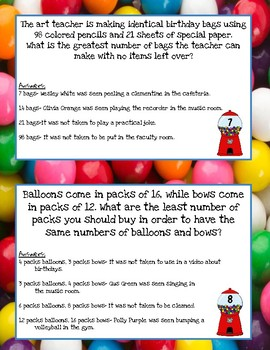 5th Grade Mixed Review- Whodunnit Math Mystery
