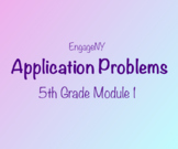 5th Grade Module 1 Application Problems- EngageNY