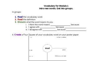 5th Grade Module 1 Lesson 1