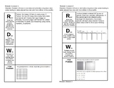 5th Grade Module 1 Lessons 1-16 Journal Pages Engage NY Eureka