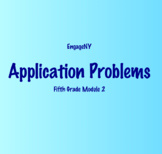 5th Grade Module 2 Application Problems- EngageNY