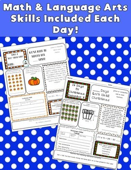 5th Grade Morning Work: Entire Year {Digital & PDF Included}