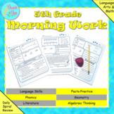 5th Grade Morning Work (Math and ELA) - Google Classroom,