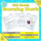 5th Grade Morning Work / Homework / Bell Work (Quarter 1)