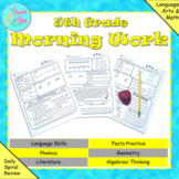 5th Grade Morning Work / Homework / Bell Work (Quarter 2)