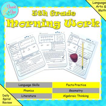 5th Grade Morning Work / Homework / Bell Work (Quarter 2)