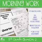 5th Grade Morning Work - Quarter 2