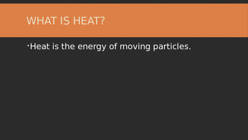 5th Grade Movement of Heat PowerPoint