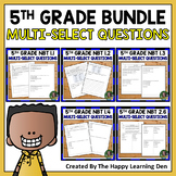 Number and Operations in Base Ten BUNDLE for 5th Grade