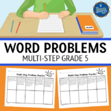 Multi Step Word Problems 5th Grade