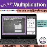 Multi-Digit Multiplication   Whole Numbers   Digital