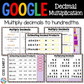 5th Grade Multiplying Decimals by Decimals {5.NBT.7} - Google Classroom