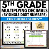5th Grade Multiplying Decimals by Whole Numbers {5.NBT.7}