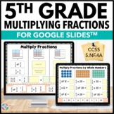 5th Grade Multiplying Fractions by Whole Numbers & Fractio