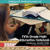 Fifth Grade- Multiplying and Dividing Decimals Interactive