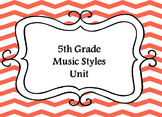 5th Grade Music Units Bundle