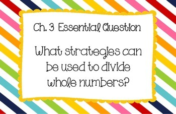 "5th Grade ""My Math"" Essential Questions (McGraw-Hill)"