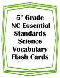 5th Grade NC Essential Standards Science Ecosystems Vocabu