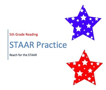 5th Grade- NEW- STAAR Reading Practice Test