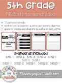 Full Year 5th Grade NGSS Aligned Performance Tasks