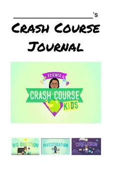 5th Grade NGSS Crash Course Yearlong Journal