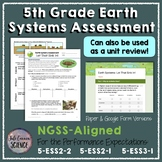 5th Grade NGSS Earth Systems Unit Assessment or Review