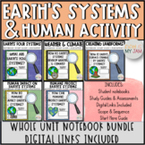 5th Grade NGSS // Earth's Systems and Human Activity // Guided Lesson Bundle