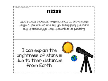 """5th Grade NGSS """"I Can"""" Standards Posters + Checklists"""