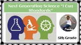 5th Grade NGSS I Can Statements
